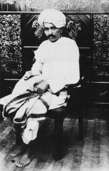 মহাত্মা গান্ধী, ১৯১৯-এ তোলা ছবি