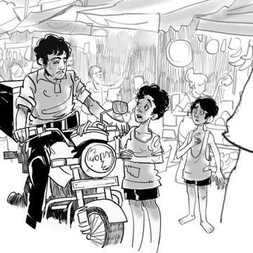 কাগের ঠ্যাং বগের ঠ্যাং এম মণিকন্দন অনুবাদ - প্রকল্প ভট্টাচার্য