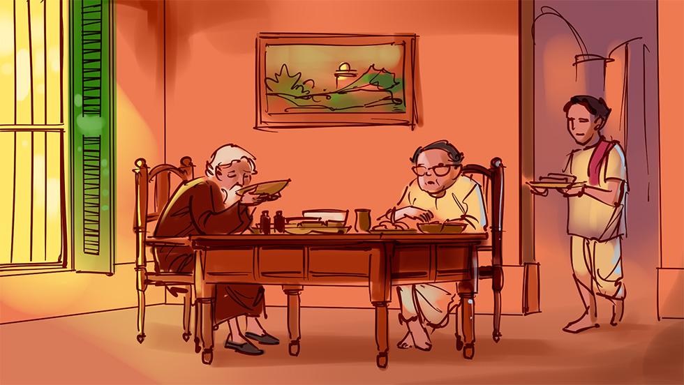 রবিঠাকুরের ভোজনবিলাস রণিতা চট্টোপাধ্যায়